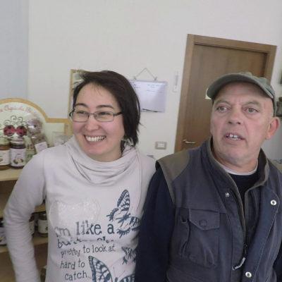 Raikhan e Antonio