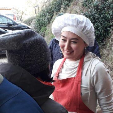 Escursione per erbe spontanee presso l'azienda biologica La Coccinella